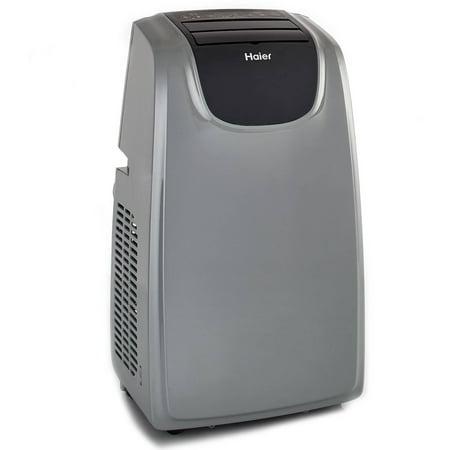 Haier 12 000 Btu Portable Air Conditioner Grey Black