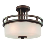 Dolan Designs Mult Nomah 3 Light Semi Flush Mount - 2885-62
