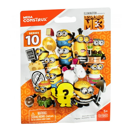 Mega Construx Despicable Me 3 Series X Blind Pack Mystery Figure