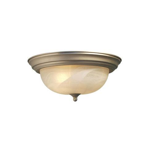 Woodbridge Lighting  31010-STN  Ceiling Fixtures  Anson  Indoor Lighting  Flush Mount  ;Satin Nickel