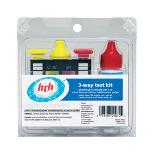 ARCH CHEMICAL 3-Way Pool Test Kit