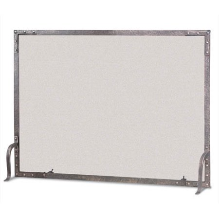 Pilgrim Hearth Old World Flat Top Single Panel Fireplace Screen