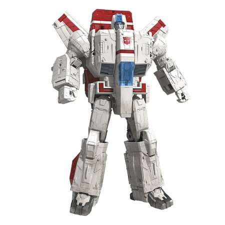 Transformers Toys Generations War for Cybertron Commander WFC-S28 Jetfire Action Figure - Siege Chapter - Adults and Kids Ages 8 and Up, 11-inch (Transformers The Ultimate Battle)