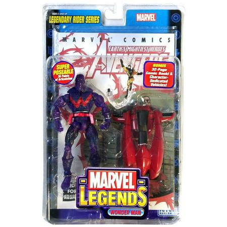 Marvel Series 11 Legendary Riders Wonder Man Action Figure [Ionic Variant]