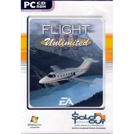 Flight Unlimited III Simulator PC CD - Experience Flying Aircrafts from Piper Arrow to P-51 Mustang & Fokker DR1 +