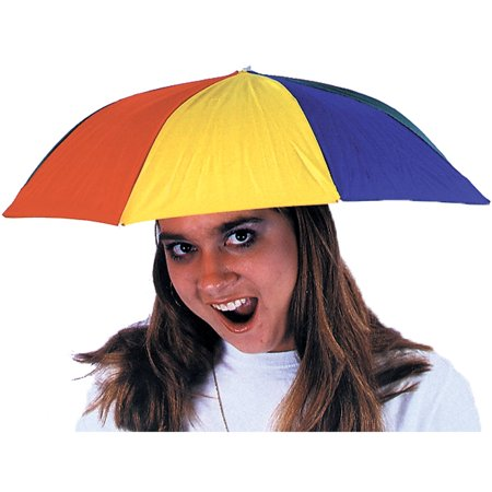 Umbrella Hat One Size Adult Halloween Accessory](Firefighter Halloween Hat)