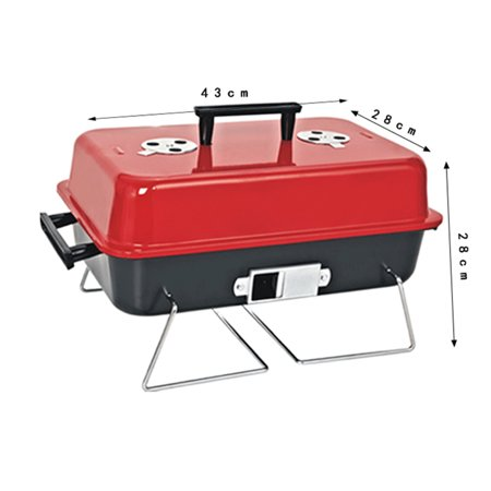 Wedlies Portable Premium Barbecue Charcoal BBQ Grill Outdoor Patio Backyard Cooking Grill Set - image 4 of 9