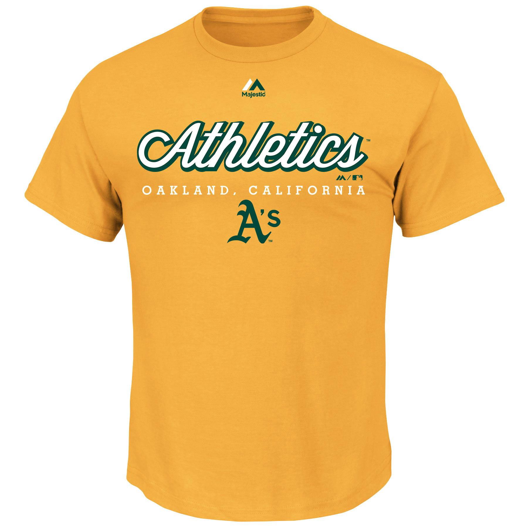 Oakland Athletics Majestic Like a Movie T-Shirt - Gold