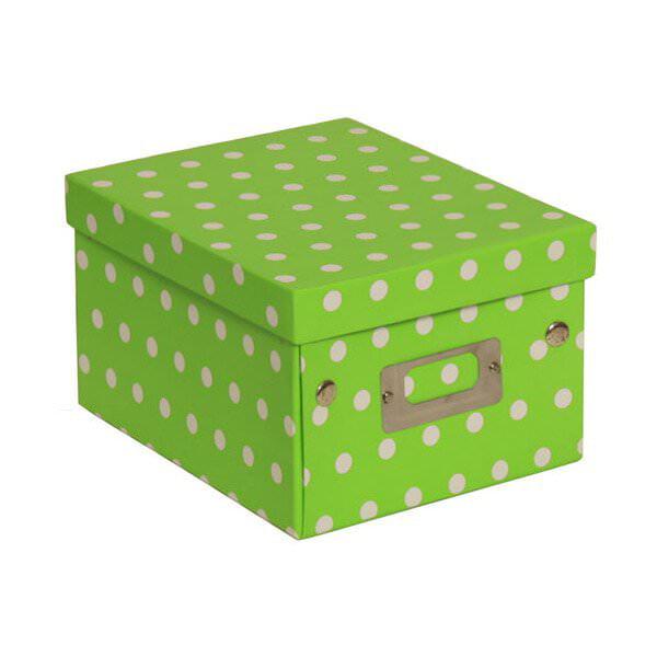 JAM Decorative Storage Box - 6 3/4 x 8 5/8 x 5 1/8 - Lime...