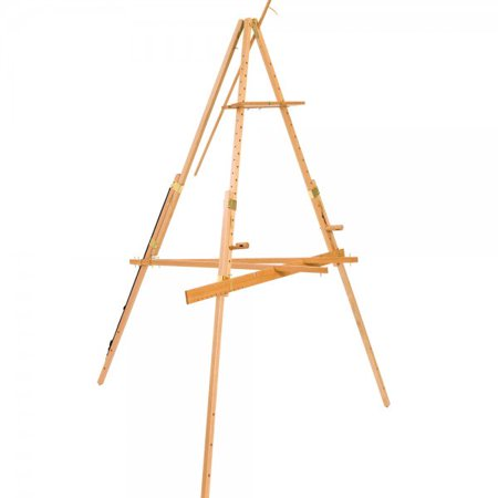 Beauport Artist Easel- Large Format Outdoor Plein Aire Painting Easel, Extra Wide Footprint Holds Canvas up to 48