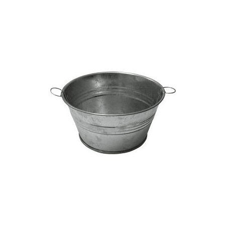- Tin Wash Tub