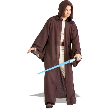 Jedi Robe Star Wars Adult Mens Deluxe Costume R56089 - Jedi Costumes Adults