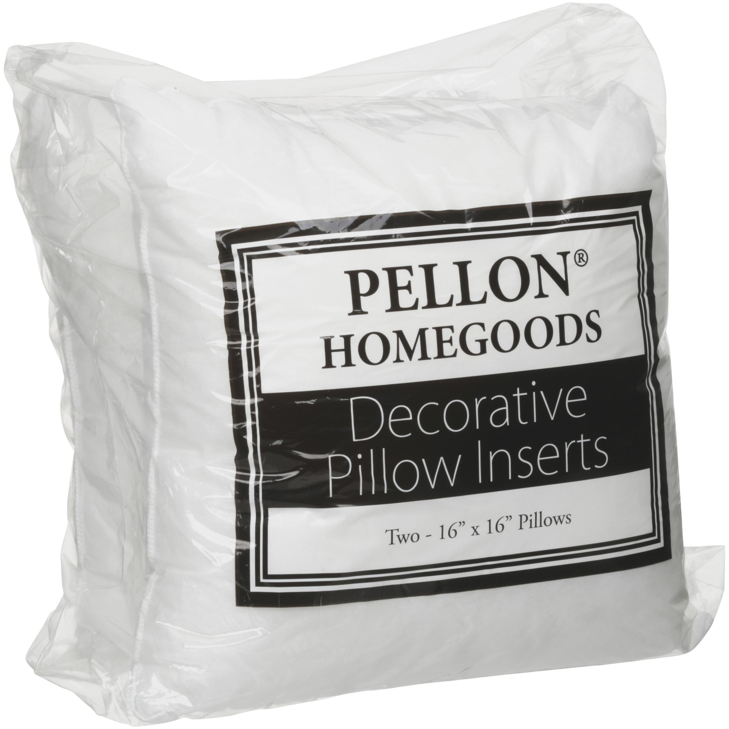 Decorative Pillow Insert Twin Pack 16 X16 Fob Mi