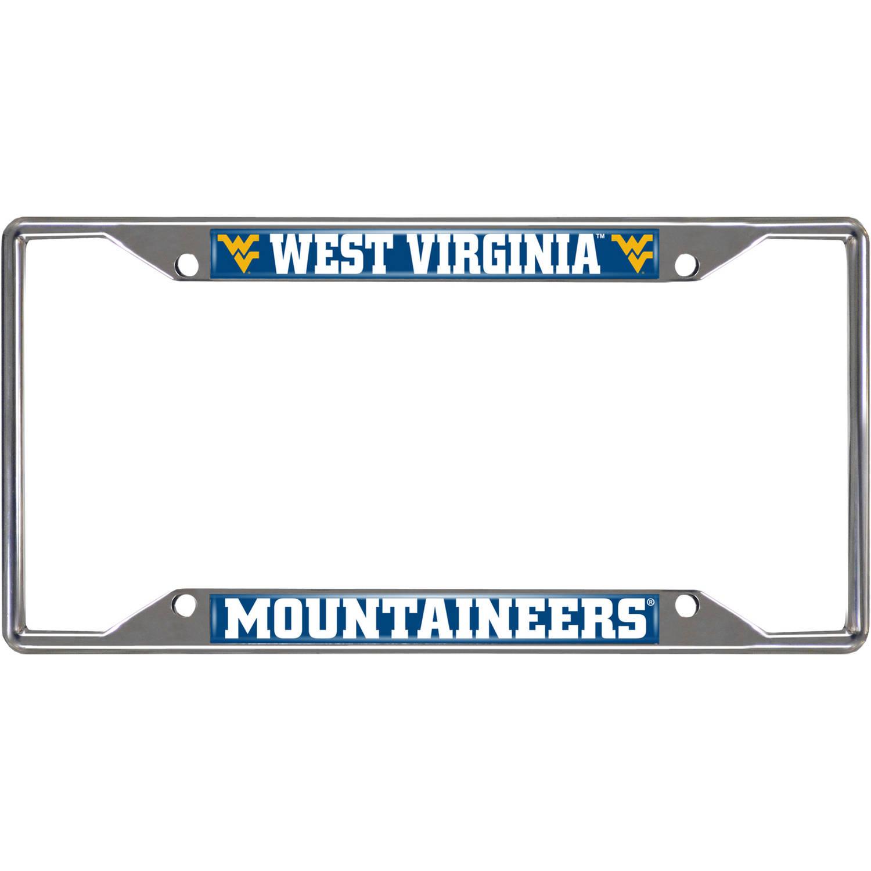 West Virginia University License Plate Frame