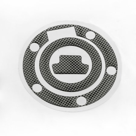 New Carbon-Look Fuel / Gas Cap Cover Pad Sticker For Yamaha YZF R1 R6