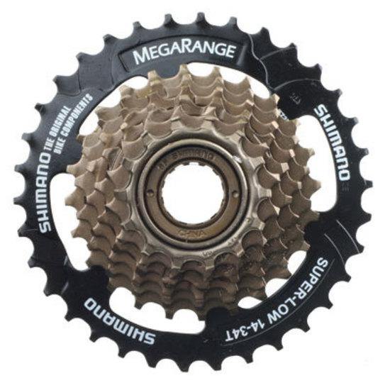 Shimano 7-spd Megarange Freewheel 14-34