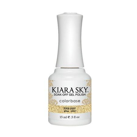 Kiara Sky Soak-Off  UV Gel Polish Pixie Dust - Izzy Pixie Dust