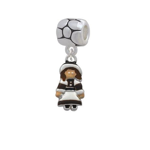 Pilgrim Girl - Pebble Charm Bead