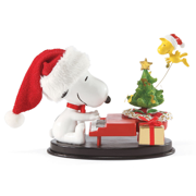 Dept 56 Possible Dreams Peanuts Piano Man Snoopy & Woodstock Set 2 2013 by Department 56
