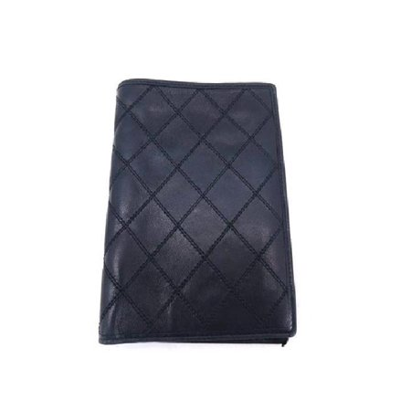 Quilted Lambskin Single Flap (Chanel Quilted Navy Blue Lambskin Wallet)