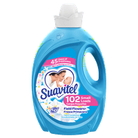 Suavitel Fabric Softener, Field Flowers, 102 Small Loads