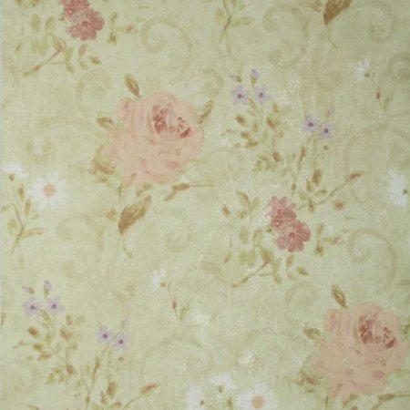 Mirage Gardner Floral Scroll Wallpaper