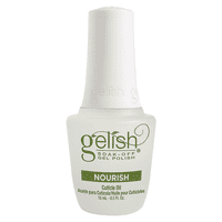 New Gelish 15mL Gel Nail Soak Cuticle Oil Soak Off Polish Nourish