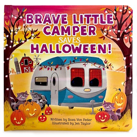 Brave Little Camper Saves Halloween (Board Book) - Decorate Your Office Door For Halloween