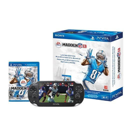 Refurbished Madden NFL 13 PlayStation Vita Wi-Fi Bundle