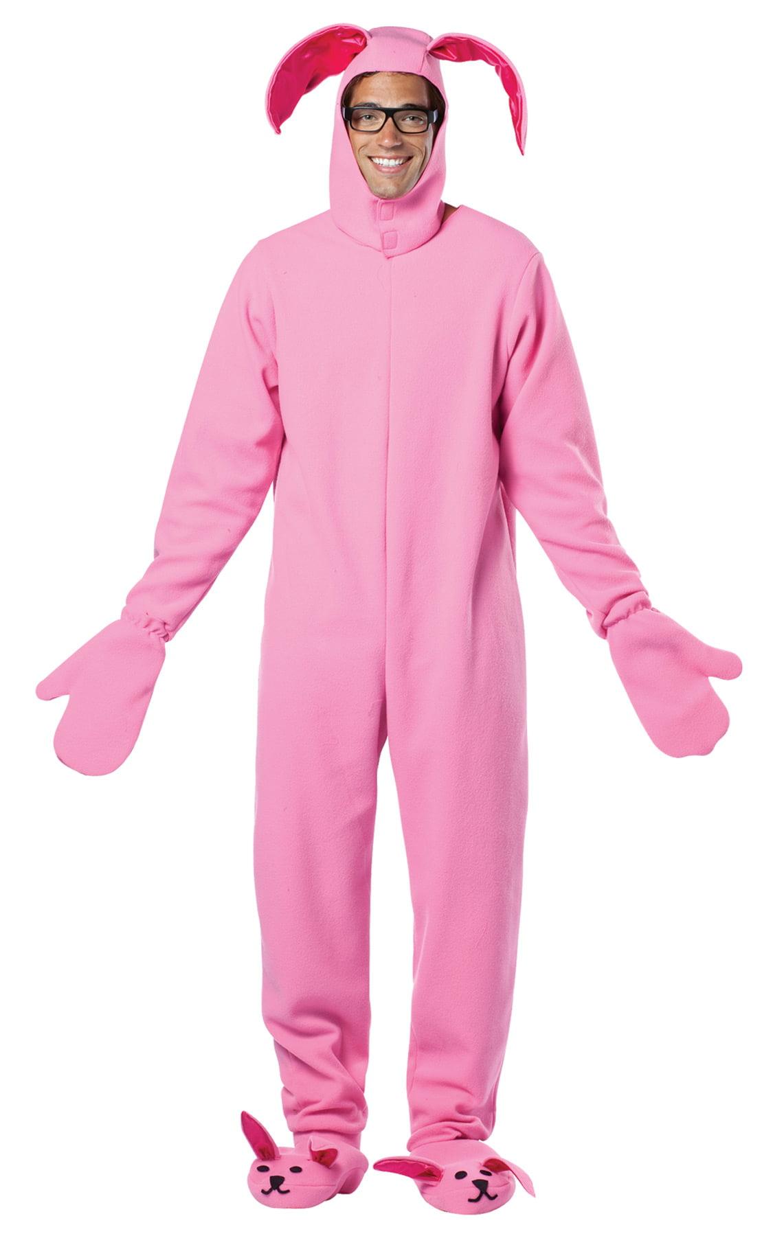 Christmas Story Bunny Suit.Christmas Story Bunny Adult Costume One Size Walmart Com