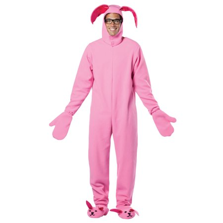 Christmas Story Bunny Adult Costume - One