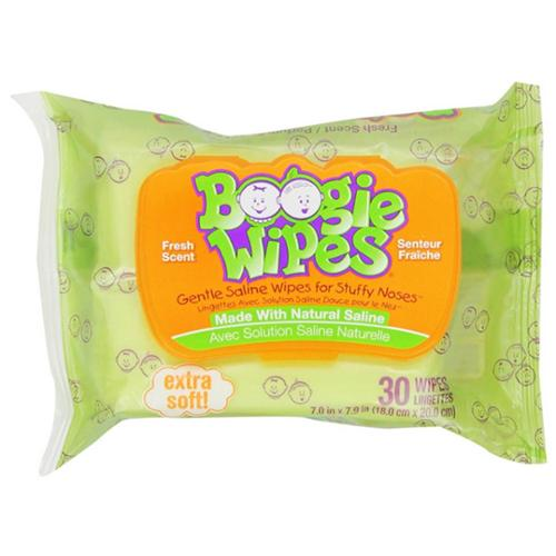 Boogie Wipes Fresh Scent 30 Each (Pack of 4)