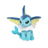 "Sanei Pokemon All Star Collection PP110 Vaporeon 7"" Stuffed Plush"