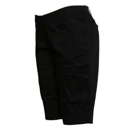 - Contemporary Edge Womens Shorts - Black