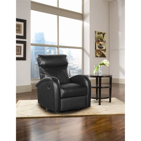 Shermag Deluxe Motion Glider Swivel Recliner Leather