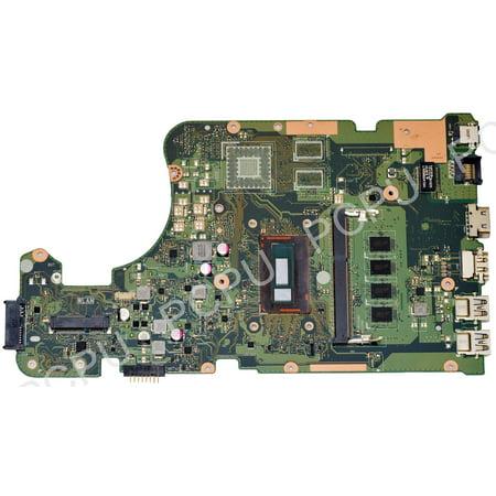 60NB0650-MBAA00 Asus X555LAB Laptop Motherboard w/ Intel i3-5020U 2.2Ghz CPU