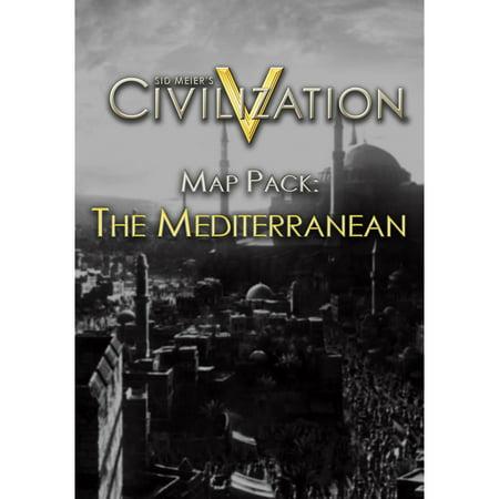 Sid Meier's Civilization V Map Pack: The Mediterranean (PC) (Digital (Assassins Creed Revelations Mediterranean Traveler Map Pack)