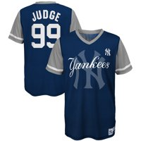 bf8142d9f83 Product Image Aaron Judge New York Yankees Majestic Youth Play Hard Player  V-Neck Jersey T-