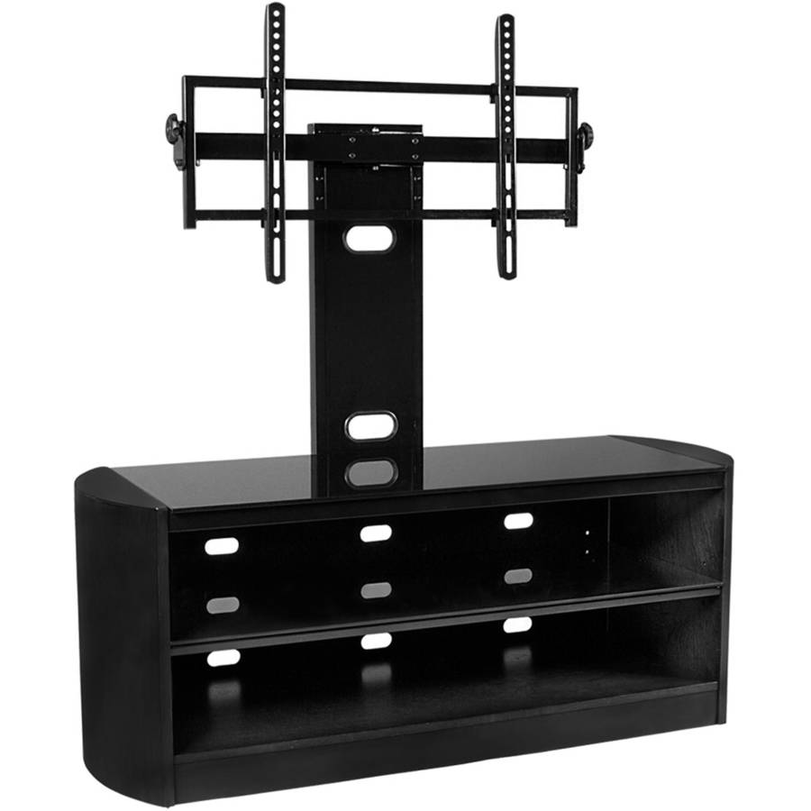 Kanto MIRAGE 50 Plus TV Stand with Tilt and Swivel Mount for Displays up to 80\