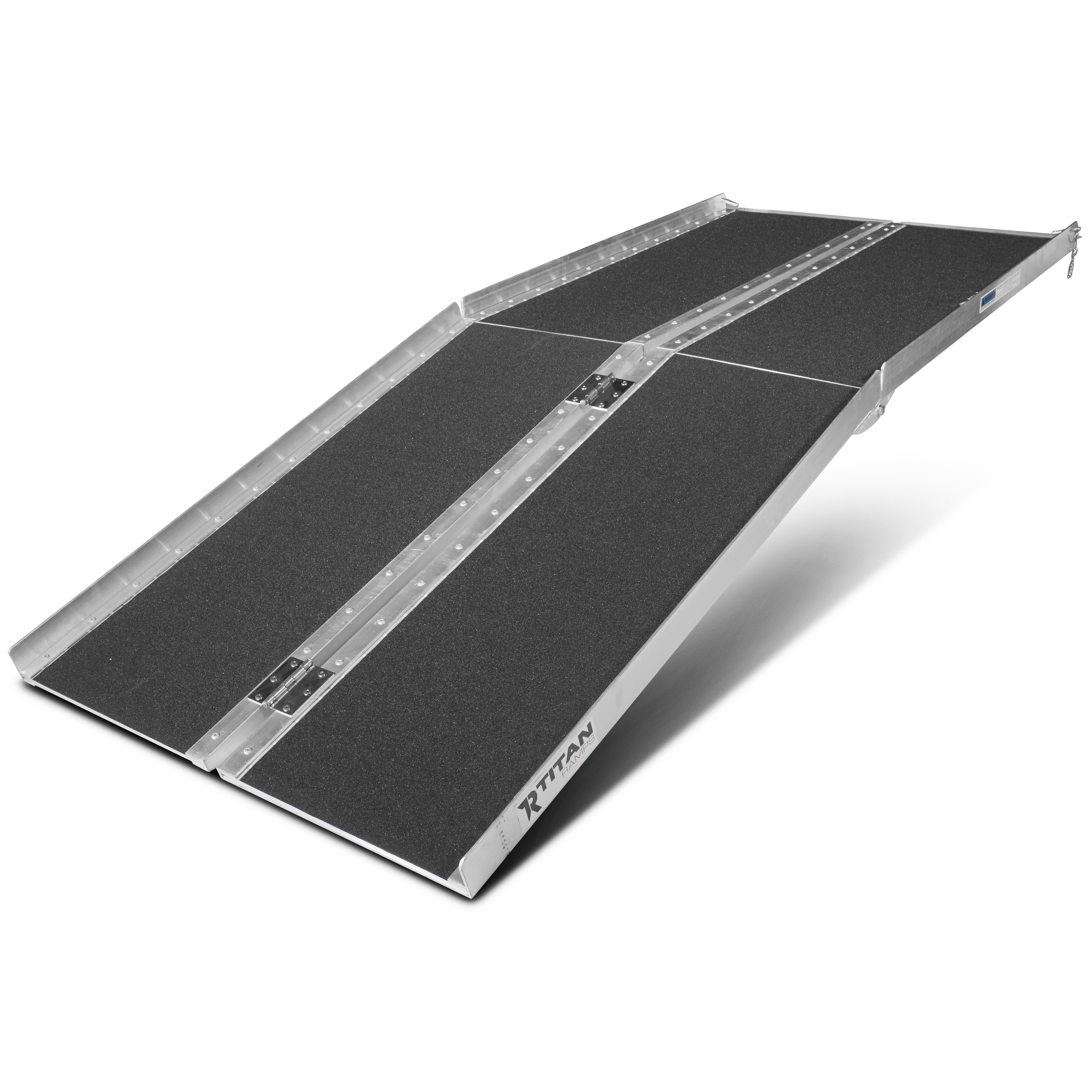 6' ft Aluminum Multifold Wheelchair Scooter Mobility Ramp...