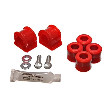 Vw Front Suspension - Energy Suspension 98-06 VW Beetle (New Version) Red 21mm Front Sway Bar Bushings