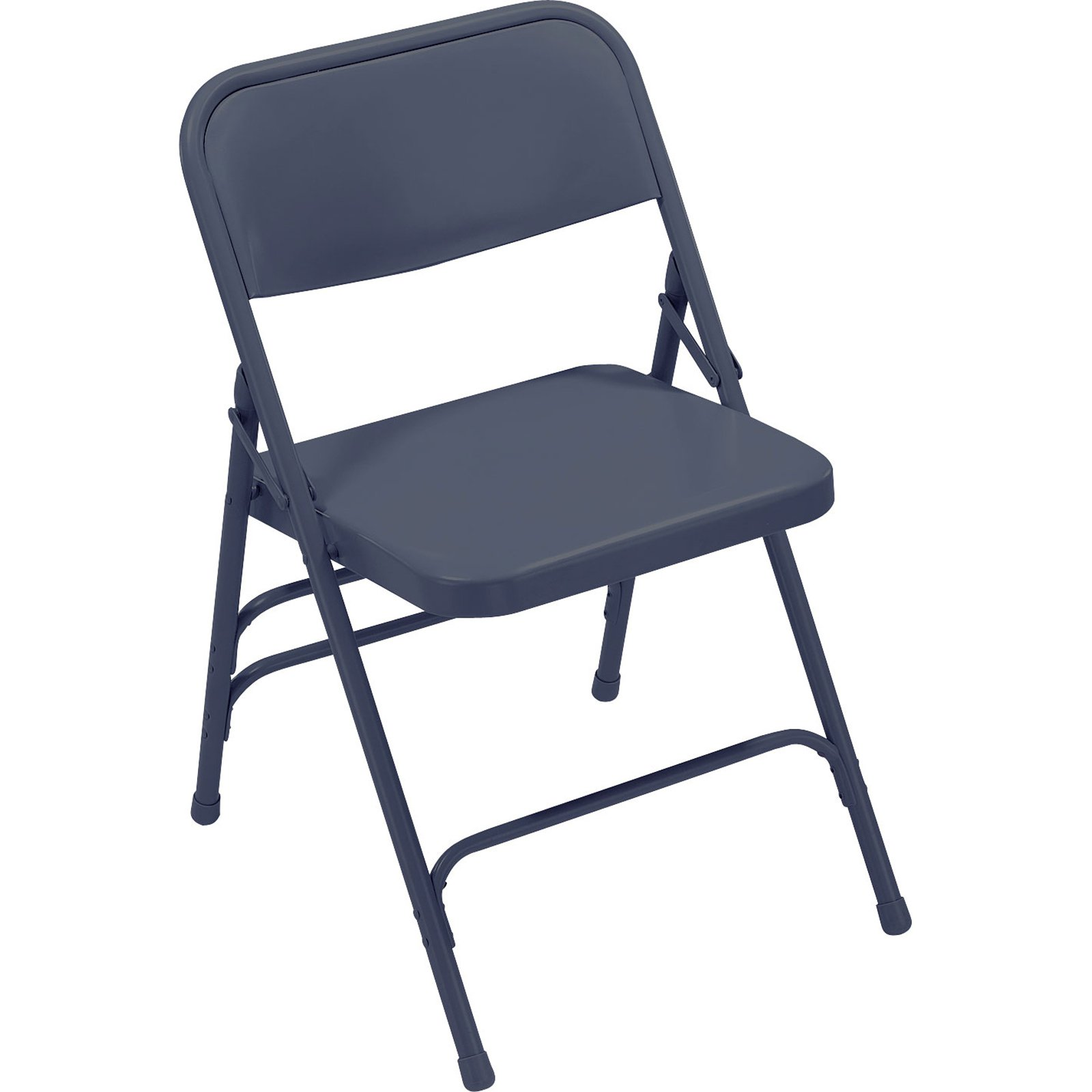 National Public Seating 300 N Series Folding Chair - 4 Pack