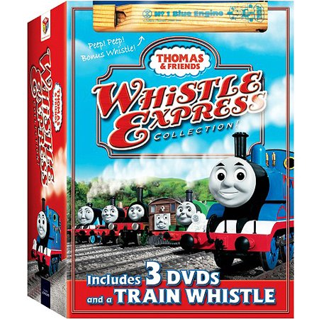 Thomas and Friends: Whistle Express Collection (with Train Whistle) (3-Disc) (Full