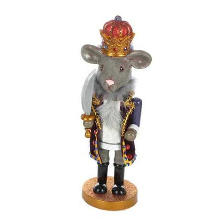 Kurt Adler Mouse King Nutcracker (Mouse Nutcracker)