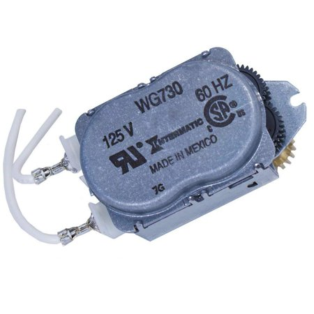WG730-14D Time Clock Motor Gray, Replacement motor for use in the following Intermatic timer series: R8800, T1900, T1970, T8800 By (World Clock Timer)