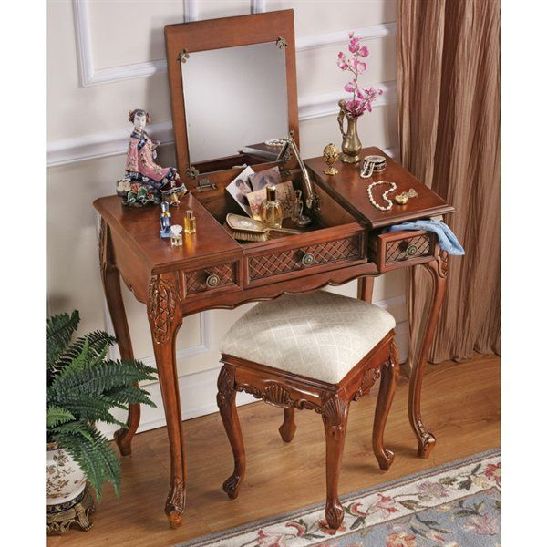 Design Toscano Princess Caroline Vanity with Mirror