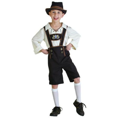 Lederhosen Boy Costume - Funny Lederhosen Costume