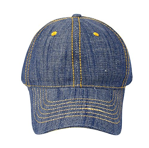 Peach Couture Unisex Sun Hats Washed Denim Hat Sports Baseball ... 95225df49c6a