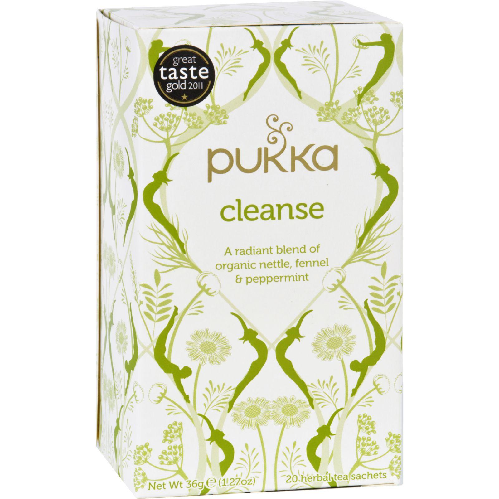 Pukka Herbal Teas Tea - Organic - Herbal - Cleanse - 20 B...