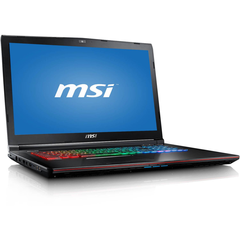 "MSI Aluminum Black 17.3"" Apache Pro-029 GE72 Laptop PC with Intel Core i7-6700HQ Processor, 16GB Memory, 1TB Hard Drive and Windows 10"